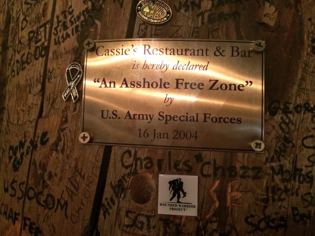 """Asshole Free Zone"""